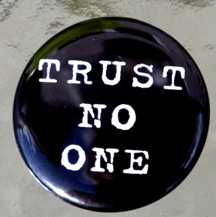 etsy trust no one pin